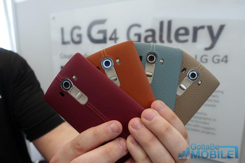 LG G4 Läder