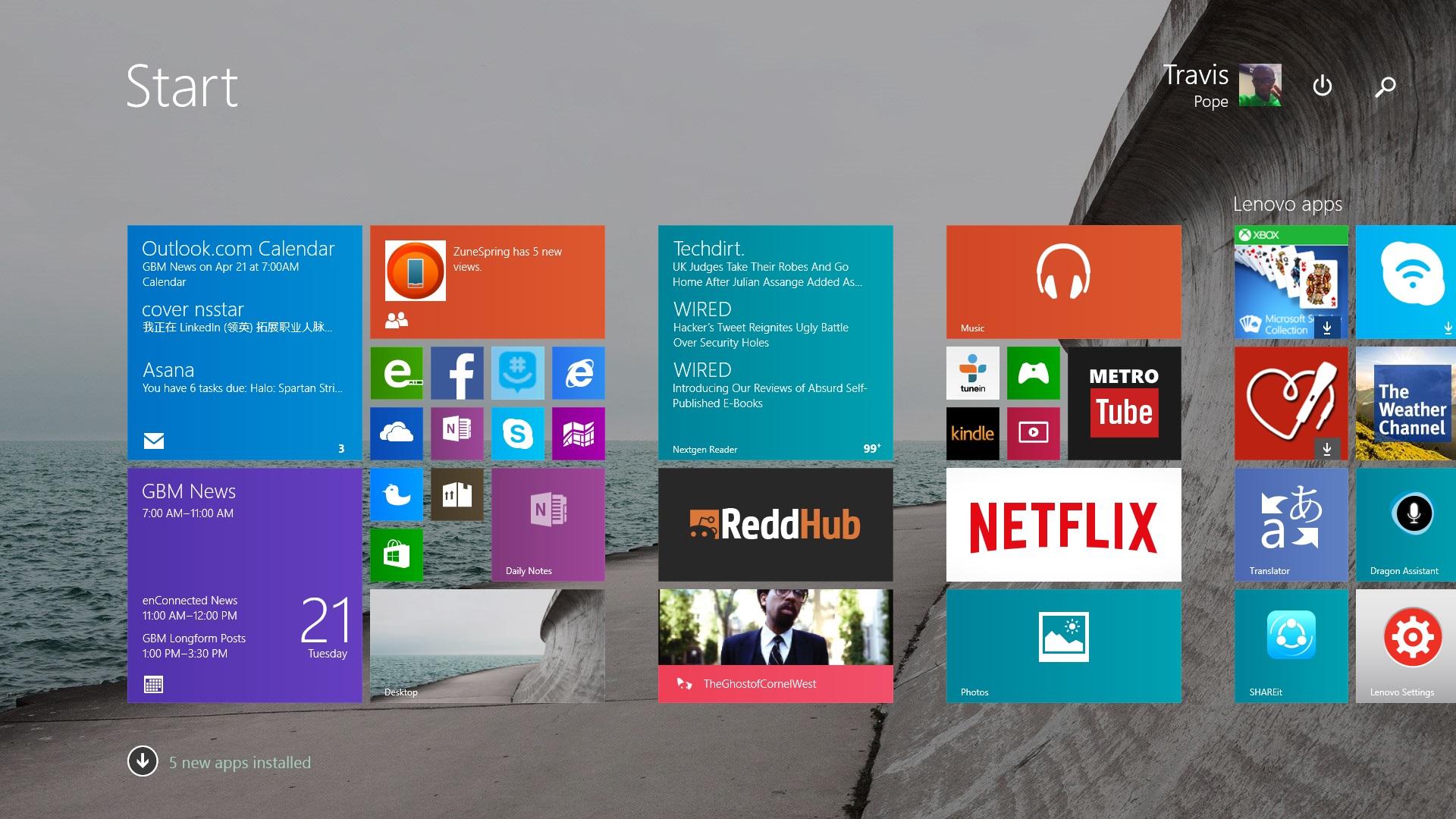 Så här använder du Facebook i Windows 8.1 (1)