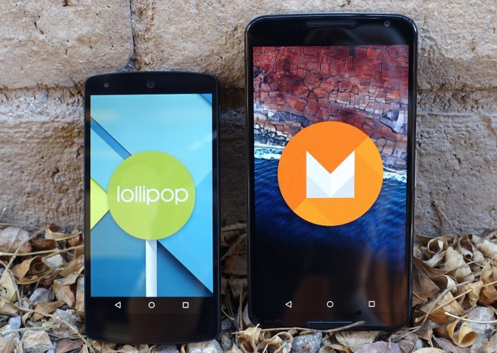 Android M vs Android L.