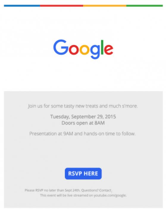 Släppdatum för Nexus 5X