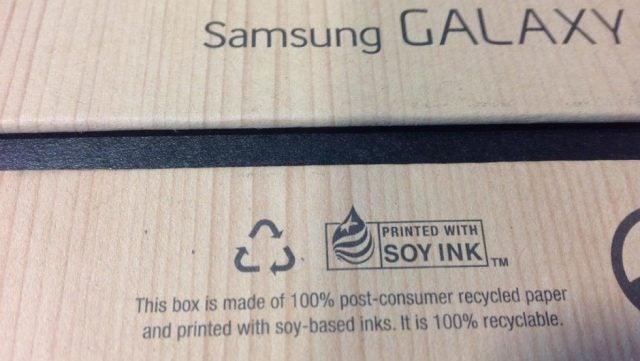 Samsung blir grön