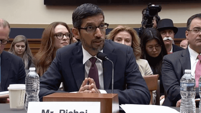 Frågor Kongress ställde Google