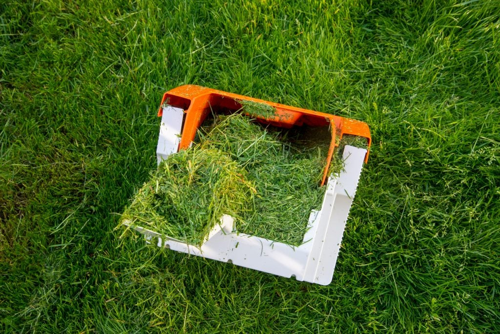 Stihl RMA 339 C full gräsuppsamlare