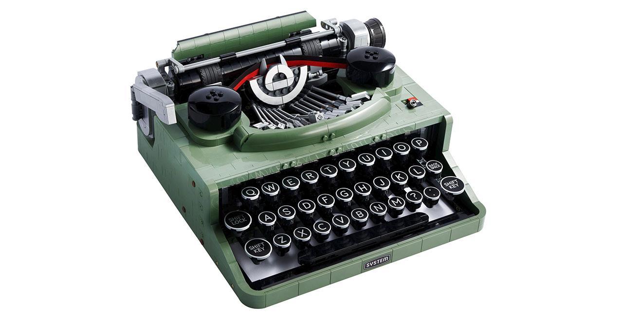 LEGO skrivmaskin
