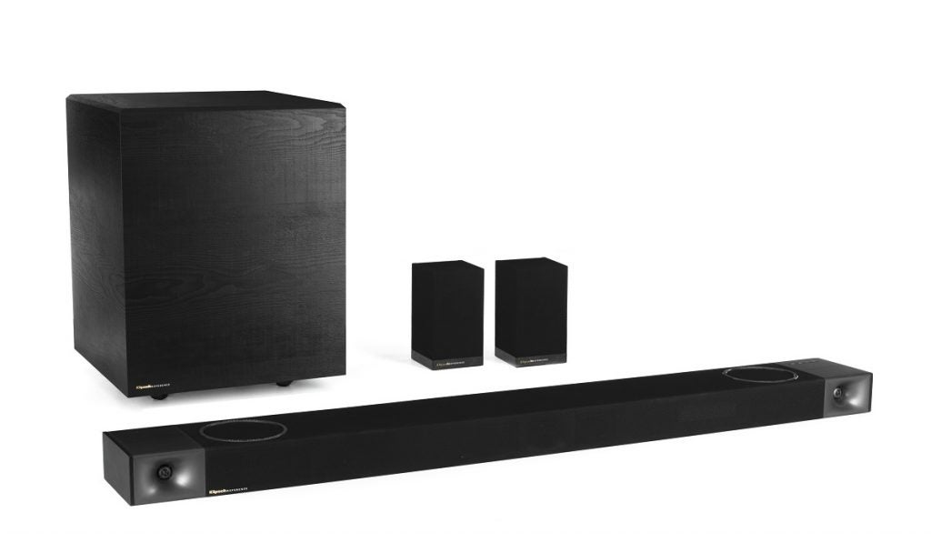 Klipsch Cinema 1200-system med bakre högtalare
