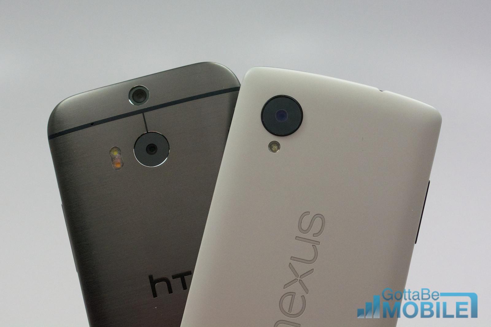Ny HTC One M8 vs - Nexus 512 -X3