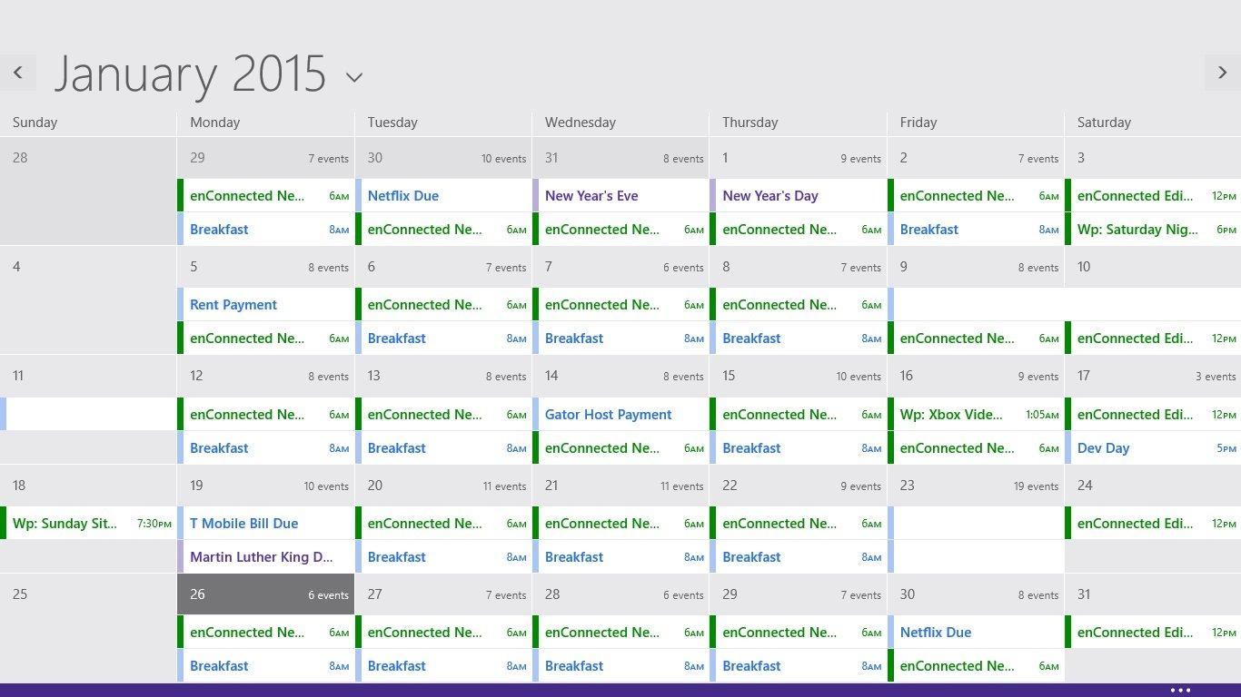 Så här lägger du till kalendrar i kalendern i Windows 8 (3)