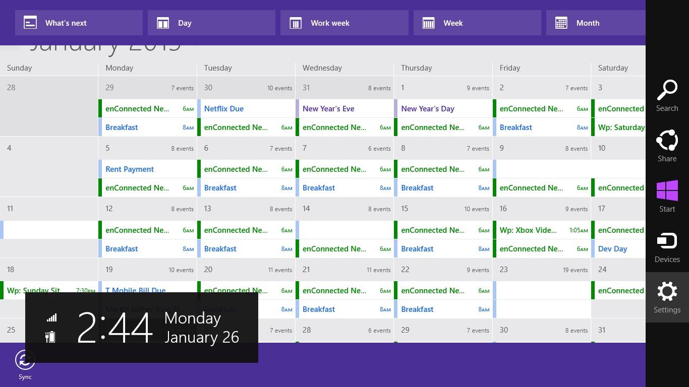 Så här lägger du till kalendrar i kalendern i Windows 8 (4)