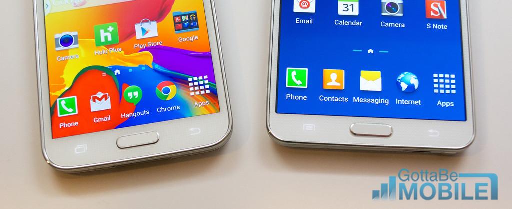Samsung Galaxy S5 vs Galaxy Note 3 - 005 -XL
