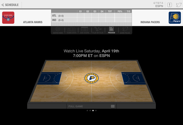 NBA-spel-live