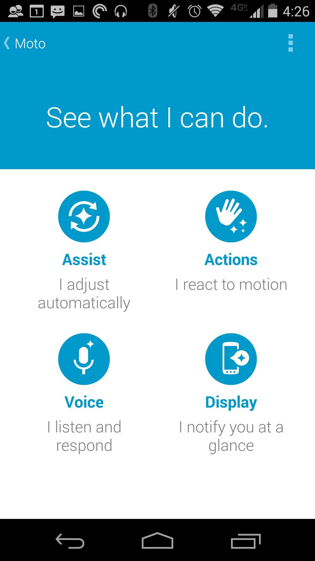 Så här stänger du av Twist to Camera på Moto X 2014 (5)