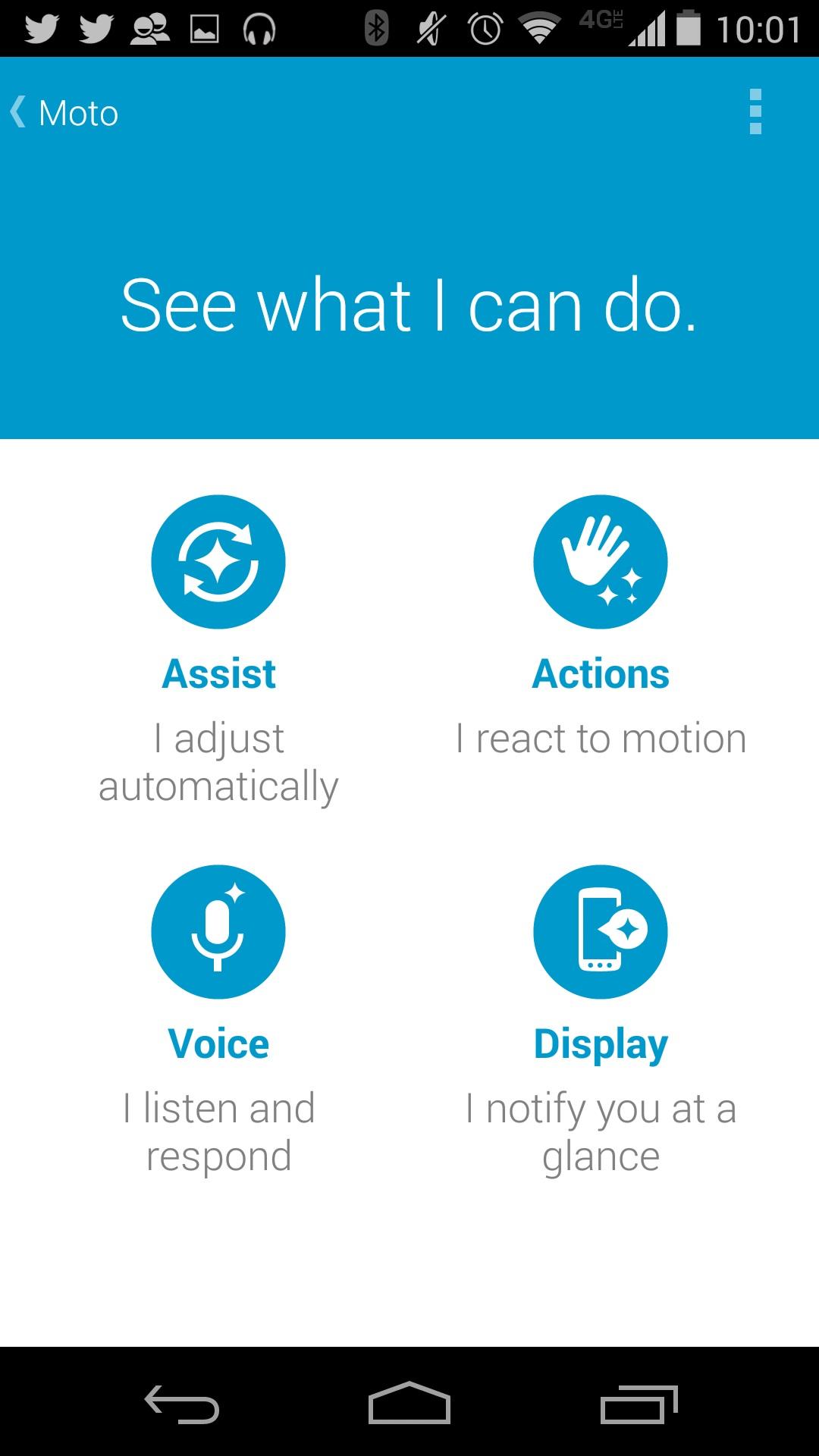Hur man automatiskt spelar musik på Moto X 2014 med Moto Assist (5)