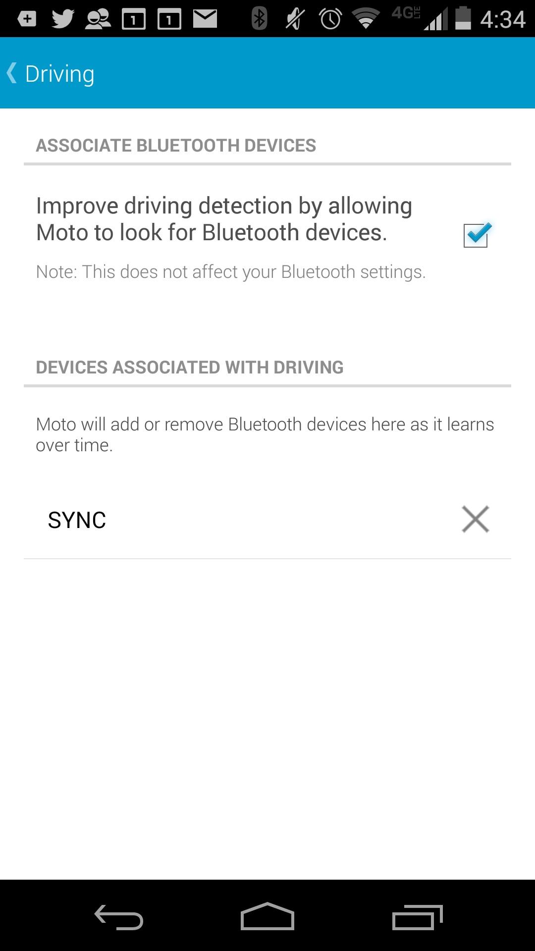 Hur man automatiskt spelar musik på Moto X 2014 med Moto Assist (10)