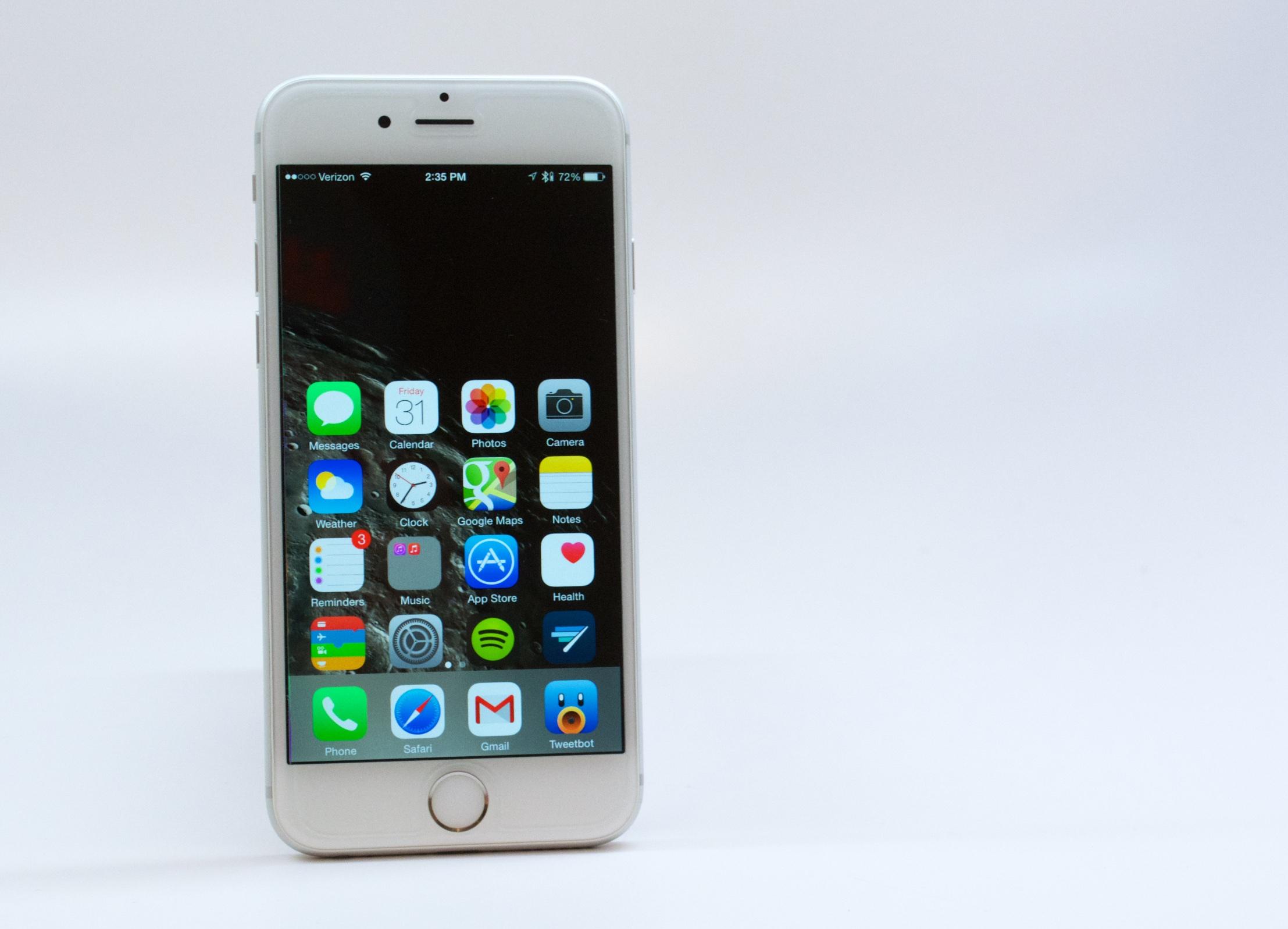 Granskning av iPhone 6 - 10