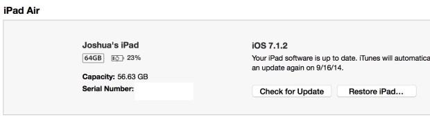 Speciellt klick på Sök efter uppgradering.