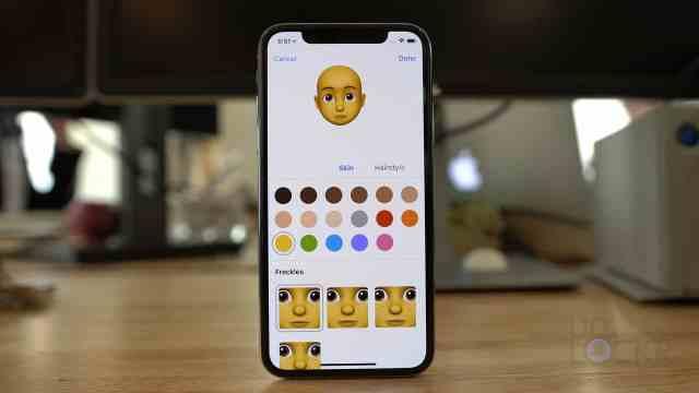 Alternativ för Memoji-anpassning