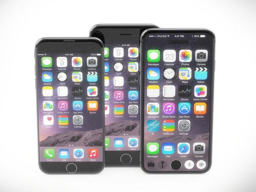 iPhone 7-koncept, inklusive en smart skärm som ändras baserat på de appar du använder.