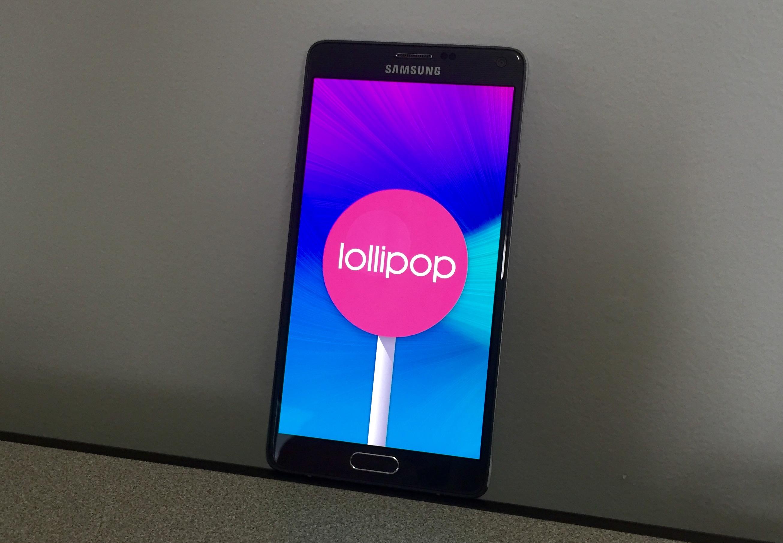 Verizon Galaxy Note 4 Lollipop Update Review - 4