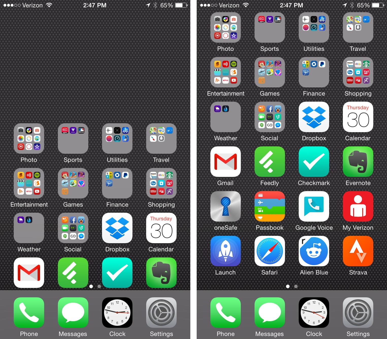 iPhone 6 Reachability