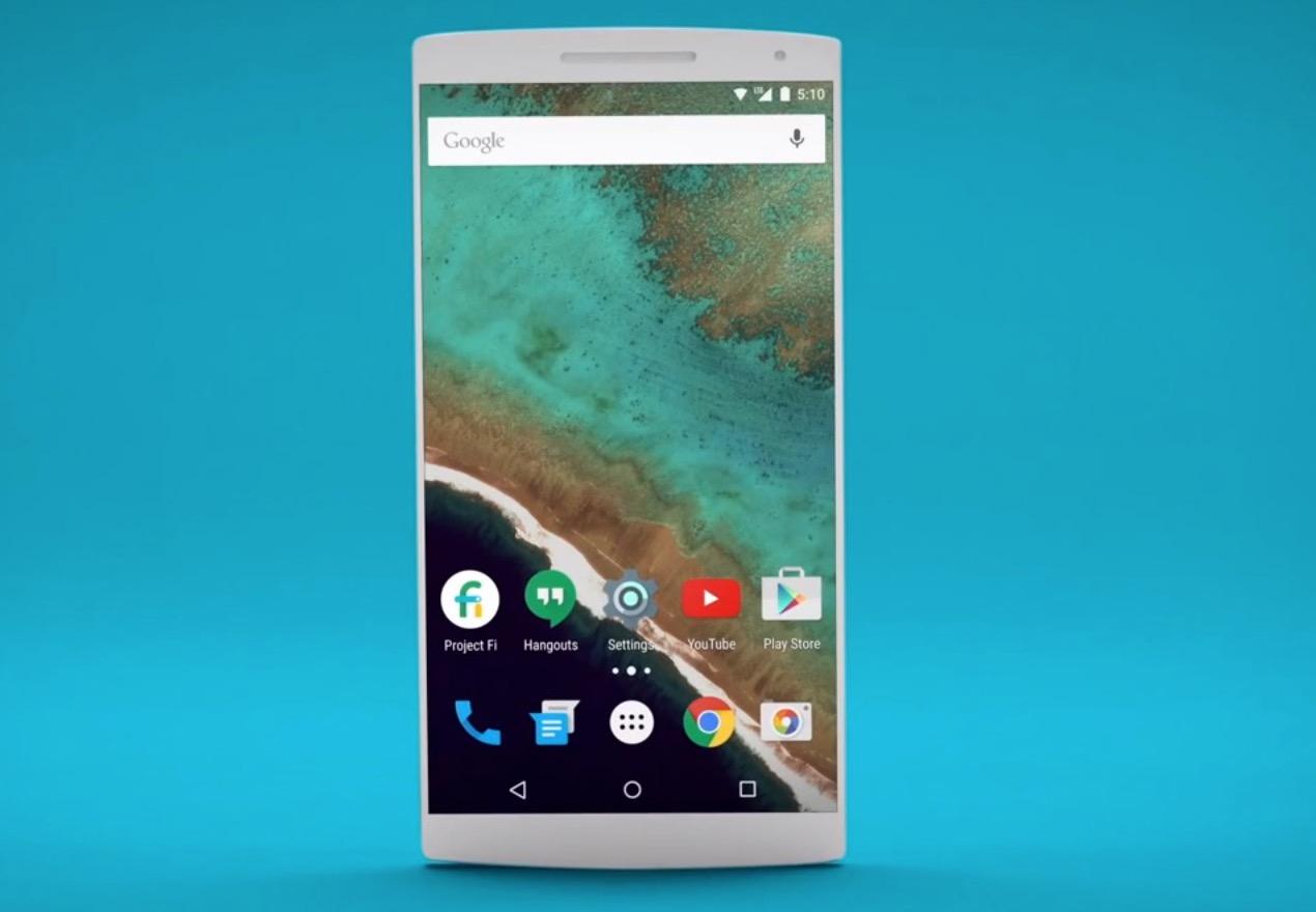 Teaser från Googles lanseringsvideo för Project Fi