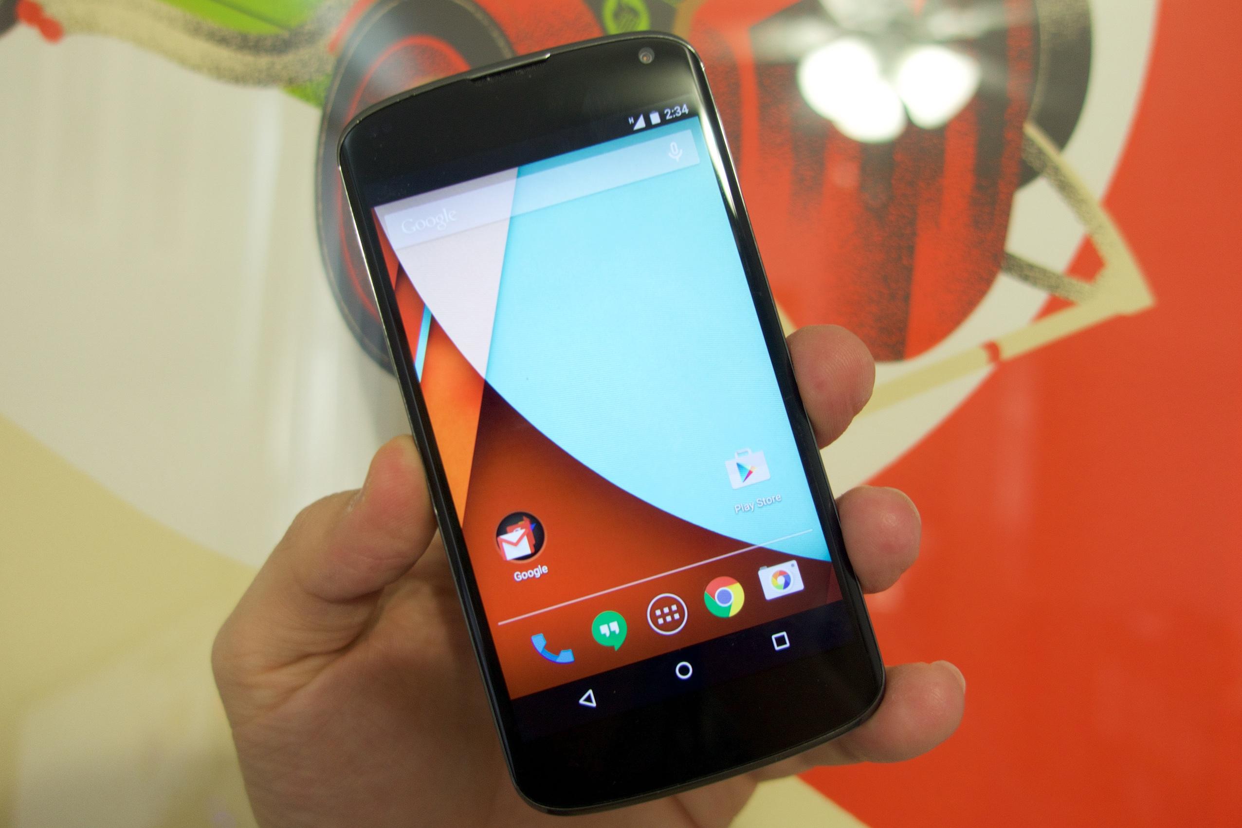 Nexus 4 Android 5.0.1 Uppdateringsrecension tidigt - 4