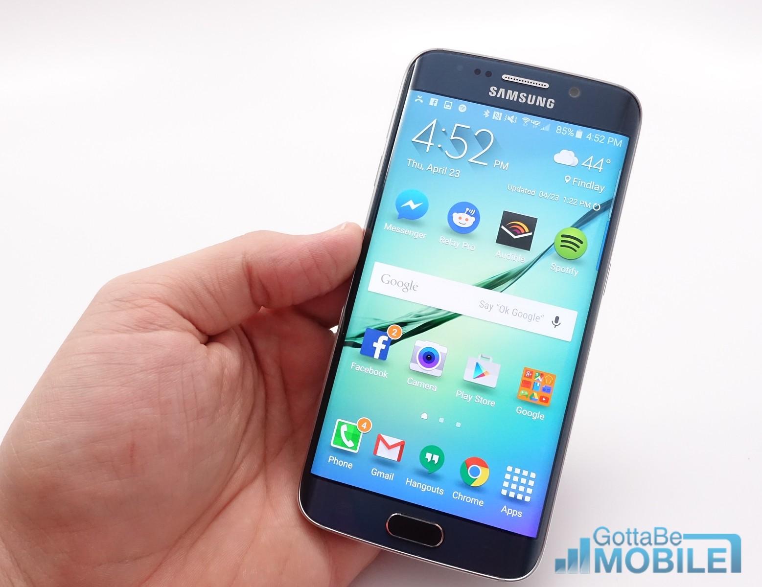 Programvaran Galaxy S6 Edge är enkel att använda och trevligare än tidigare modeller.