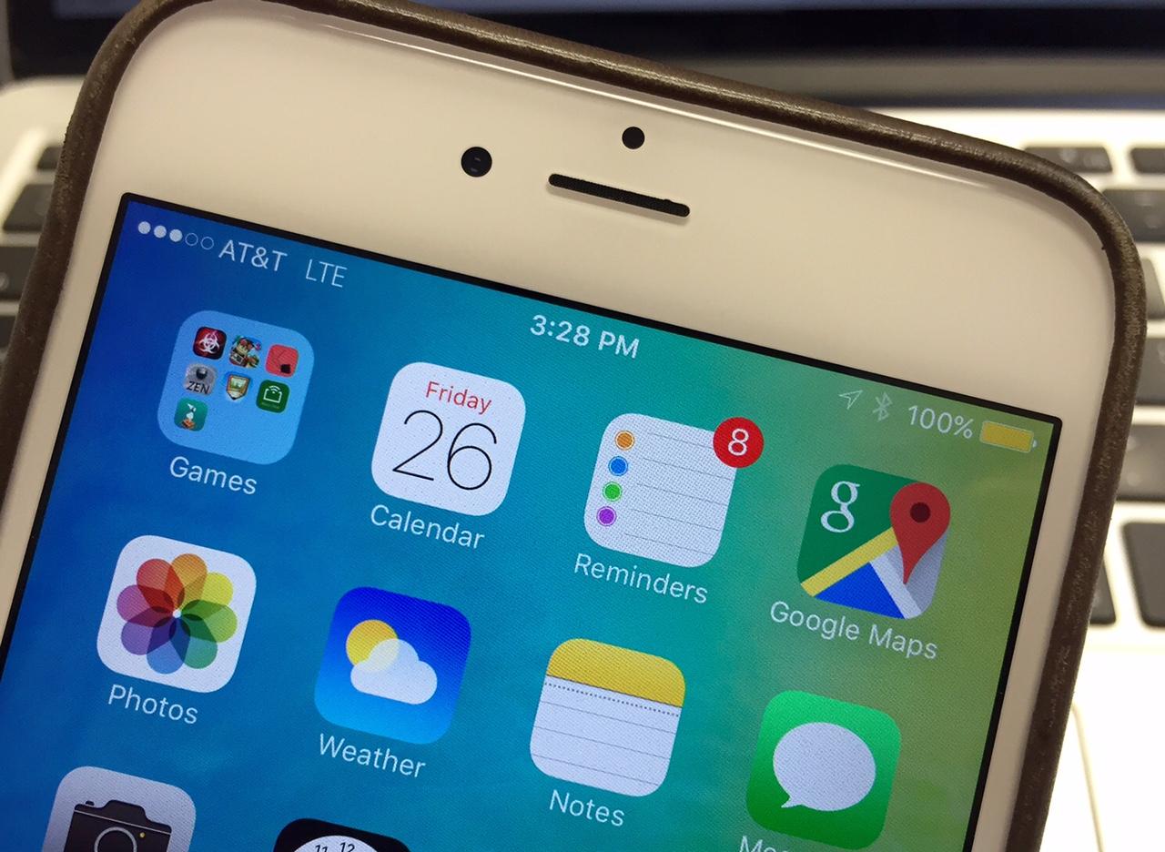 Apple planerar att fixa iPhone-batteriets livslängd med IOS 9.