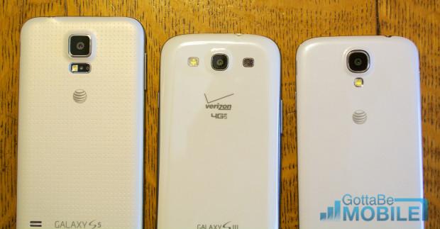 Samsung Galaxy S5 vs Galaxy S3 vs Galaxy S4 - Kameror