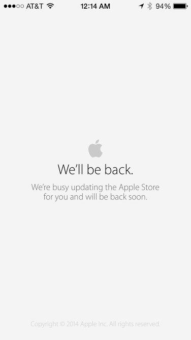 Apple Store är fortfarande nere för vissa.