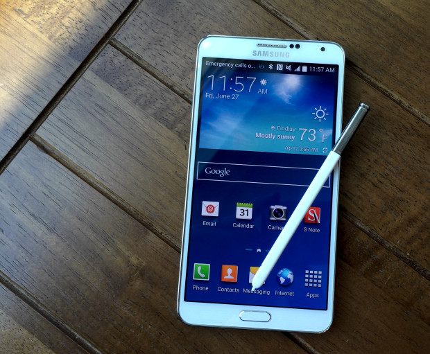 Galaxy Note 4 S Penna