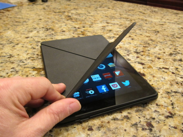 kindle fire hdx origami -fodral