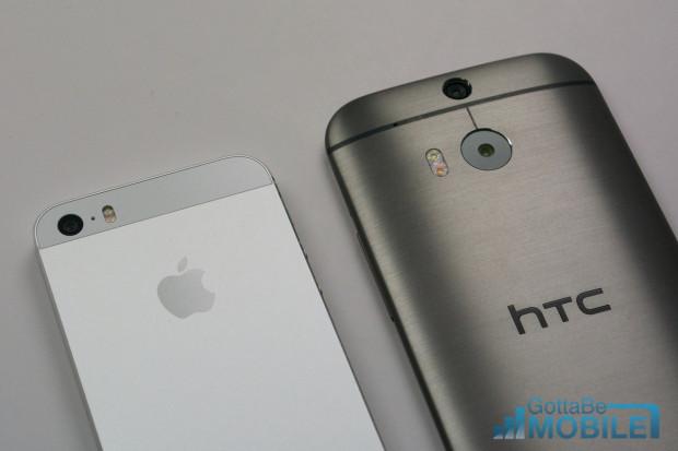 Apple och HTC har inte gått med i megapixelloppet.