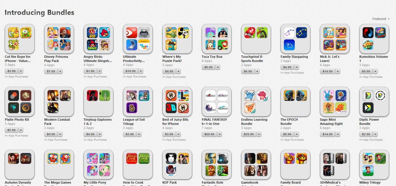 iTunes App -paket