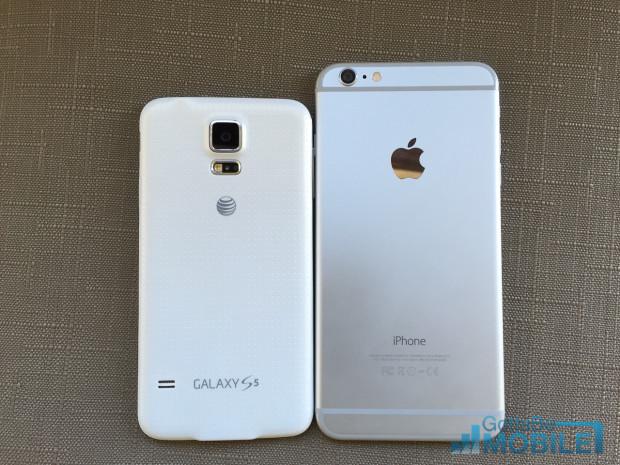 Specifikationer för iPhone 6 Plus vs Galaxy S5