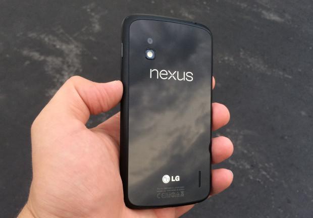Nexus 4 Android 4.4.3 Granskning tidigt - 1