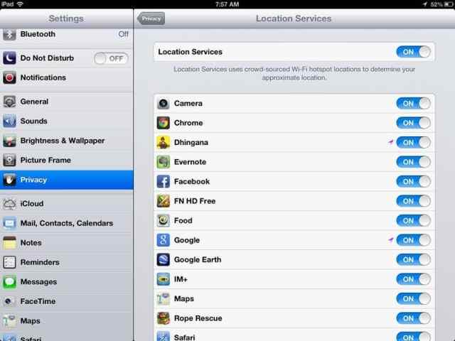 Stoppa Push -e -post på din iPad