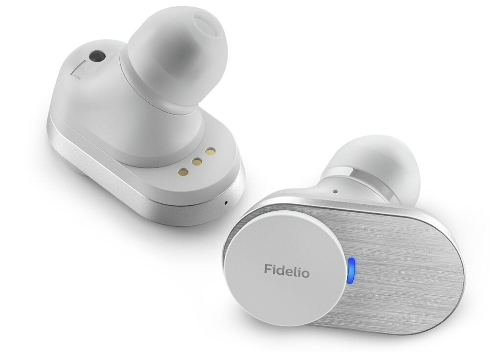 Philips Fidelio T1 vita öronsnäckor
