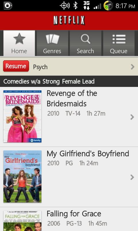 Netflix på Android