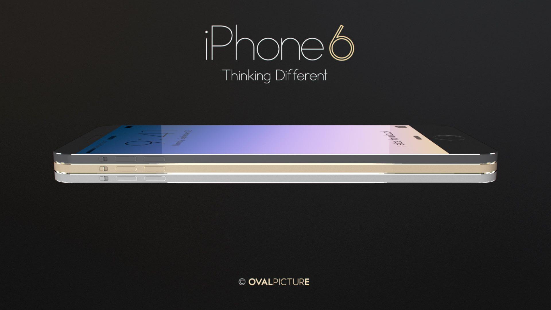 iPhone 6 -koncept.