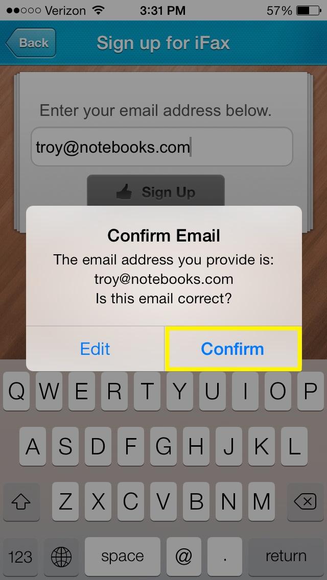 Bekräfta e-postadress