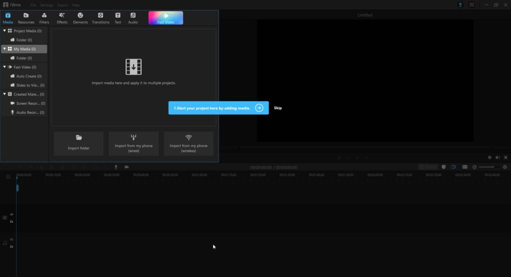 Hur man använder iMyFone Filme -videoredigerare