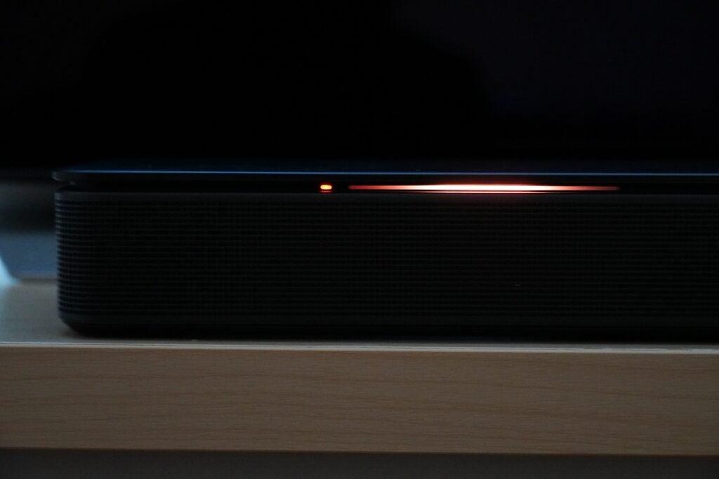 Bose Soundbar 500 -skärm