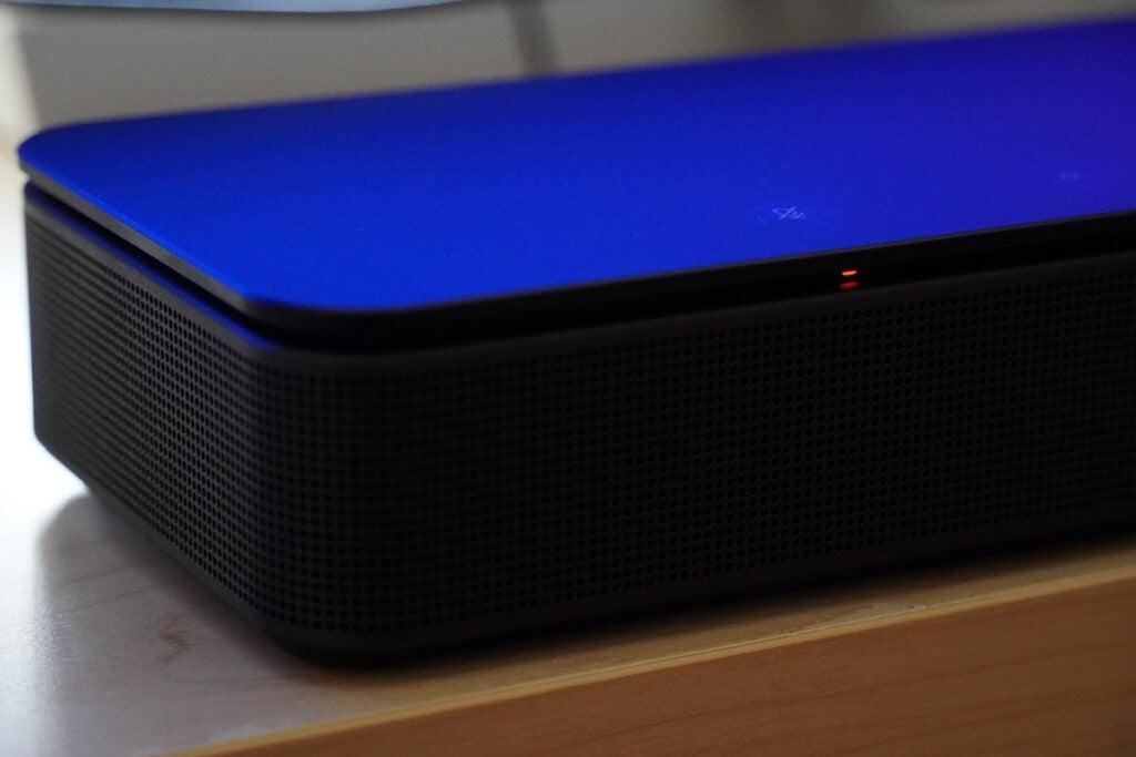 Bose Soundbar 500 på nära håll