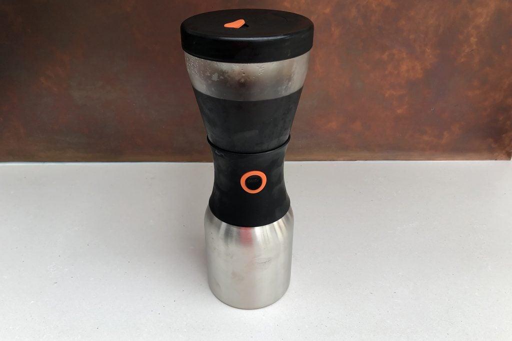 Asobu Cold Brew Kaffebryggare har bryggt klart