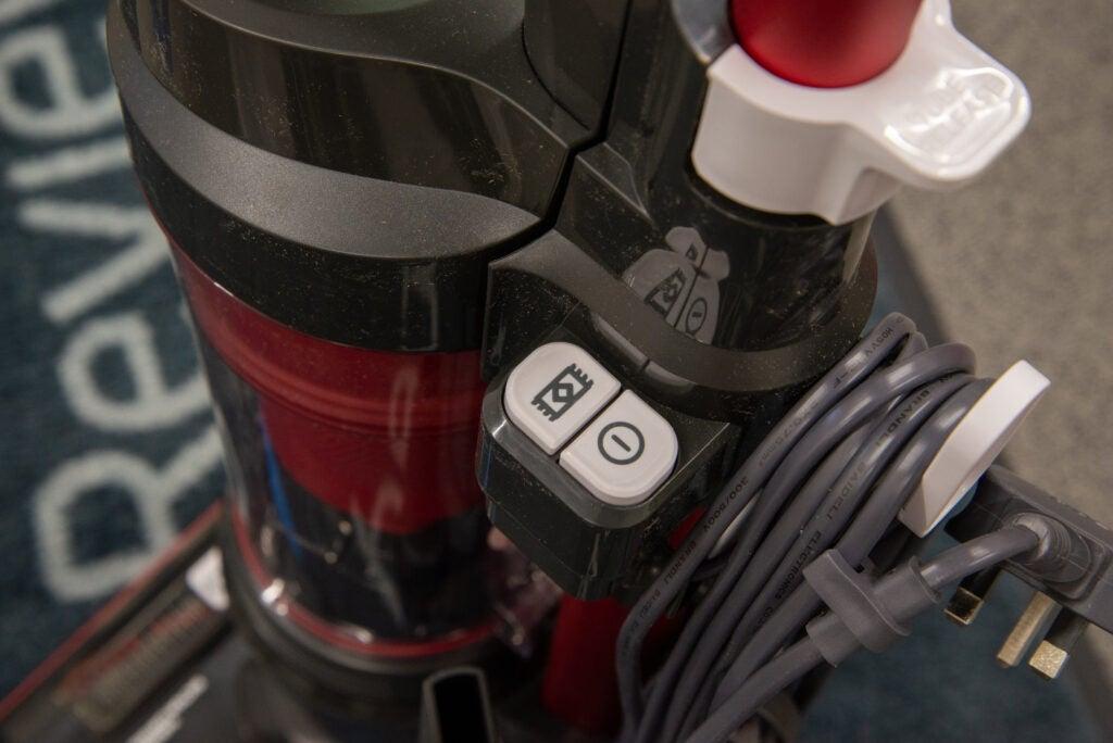Hoover H-Upright 300 kontroller