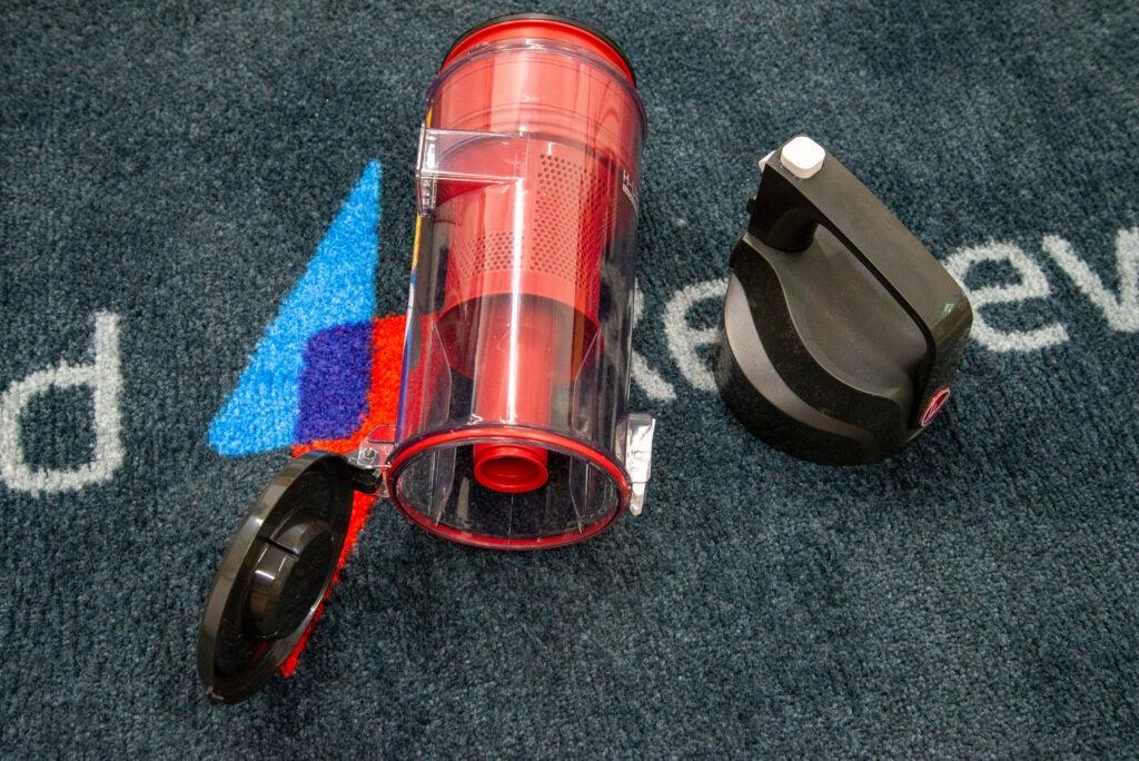 Hoover H-Upright 300-behållare och filter