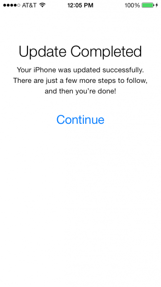 iOS 7 -nedladdningar fungerar igen verkar det som.