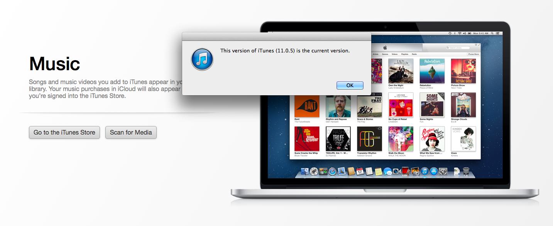 Användare som söker efter iTunes 11.1 -uppdateringen hittar inte en och den manuella nedladdningen fungerar inte för vissa.