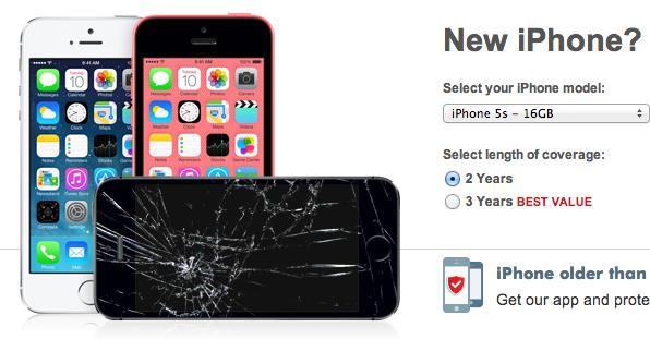 Squaretrade iPhone 5s garanti
