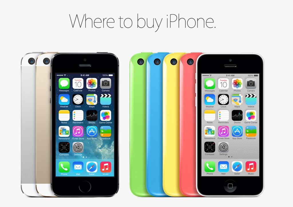 Apple meddelade lanseringsdatumet för iPhone 5C och iPhone 5S i slutet av ett evenemang idag i Kalifornien.